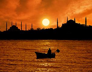 Vols à destination d'Istanbul en Turquie