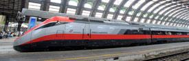 乘坐意大利國營鐵路 Trenitalia 來往意大利各地