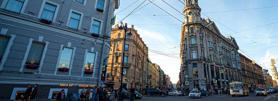 Neighbourhood: Nevsky Prospekt, Saint Petersburg   Open Skies