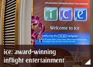 ice: award-winning inflight entertainment