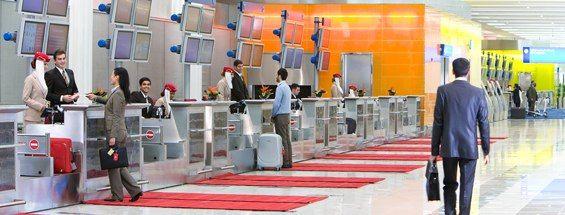 Check-in   Emirates Terminal 3   Dubai International Airport