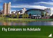 Fly Emirates to Adelaide