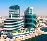 فندق كراون بلازا دبي فستيفال سيتي