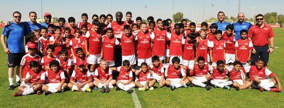 مدارس الآرسنال لكرة القدم في دبي