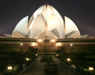 Voli per nuova Delhi, India