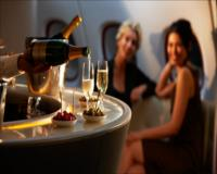 First & Business Class onboard Lounge