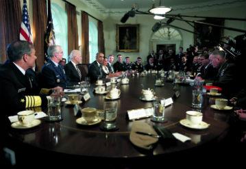 Being President, Washington DC