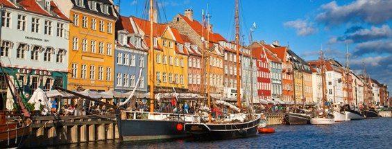 コペンハーゲンへのフライト