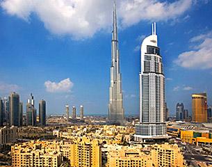 ドバイへのフライト、アラブ首長国連邦