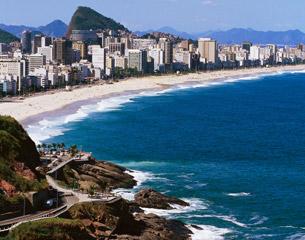 リオ・デ・ジャネイロへのフライト、ブラジル