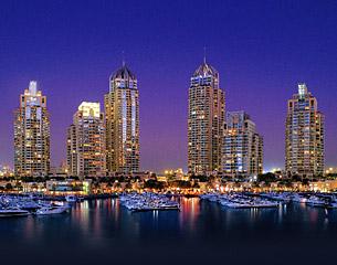 두바이행 항공편, 아랍 에미레이트 연방