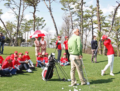 Emirates golf clinic