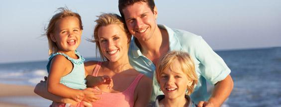 두바이에서의 가족 휴가