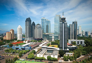 Jakarta - Hotels, Restaurants, Bars and Galleries