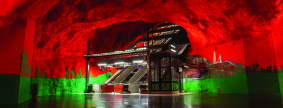 Underground in Stockholm