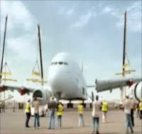 Building of Emirates A380 (Video)