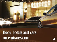 Book hotels and cars on emirates.com