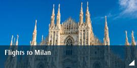 Flights to Milan
