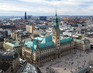 Vols à destination de Hambourg, Allemagne