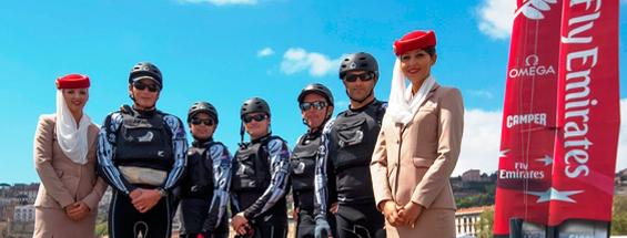 فريق طيران الإمارات نيوزيلندا
