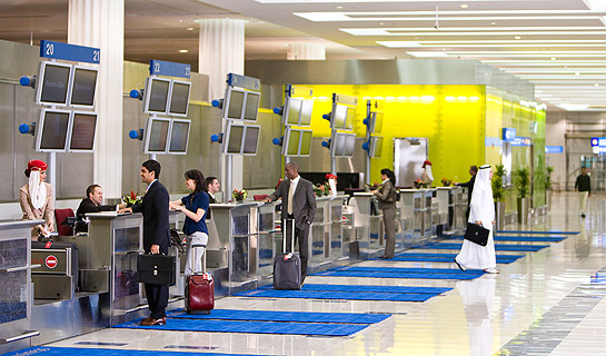 Business Class Check-in