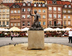 Flights to Warsaw, Poland