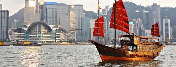Vols vers Hong Kong