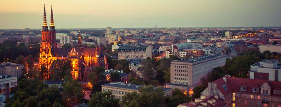 Vols à destination de Varsovie