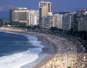 Vols pour Rio de Janeiro, Brésil