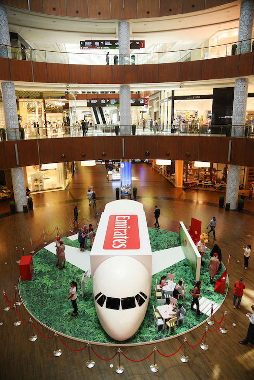 Preview: Emirates landing in Dubai Mall this weekend
