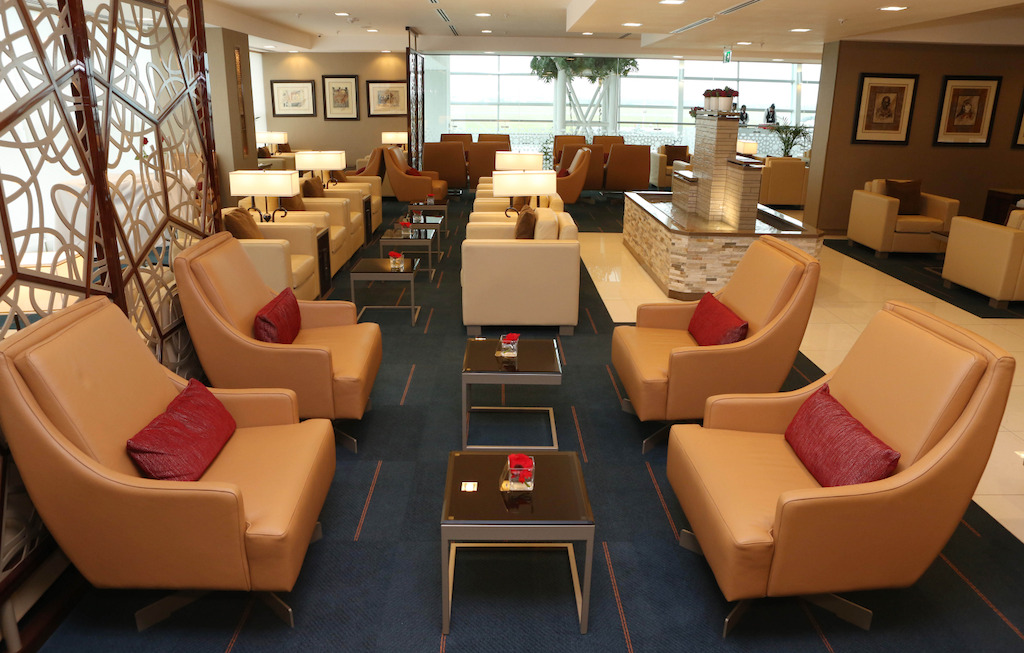 Inside Emirates New Lounge At Cape Town International Airport