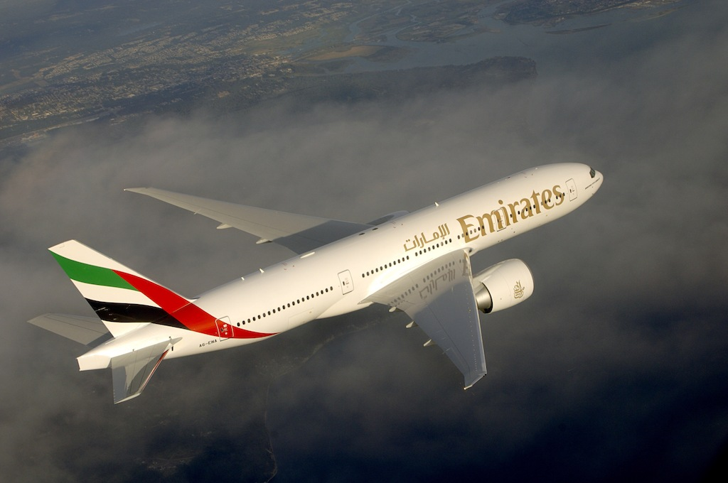 The new non-stop service will be operated by a Boeing 777-200LR