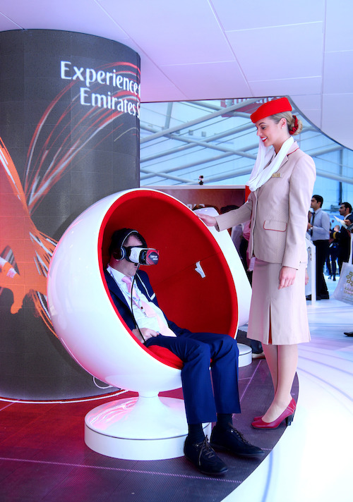 Preview: Emirates 'Infinite Possibilities' stand attracts almost 13,000 visitors at ATM