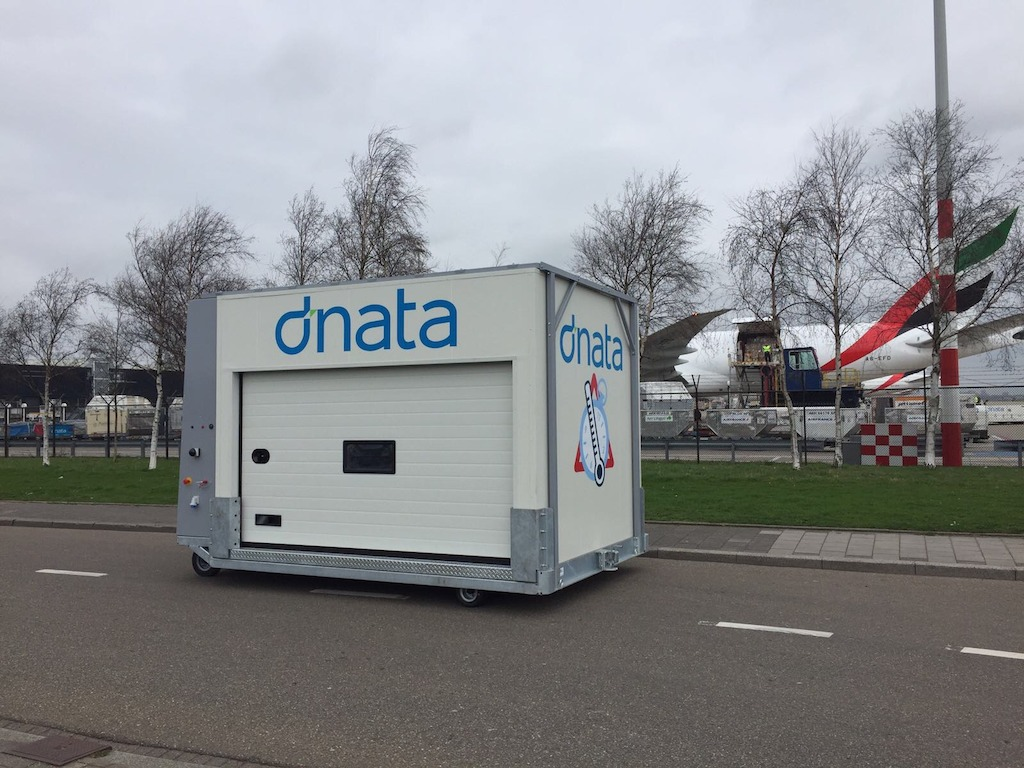 dnata Netherlands adds two new temperature controlled cargo dollies to serve the pharmaceutical industry