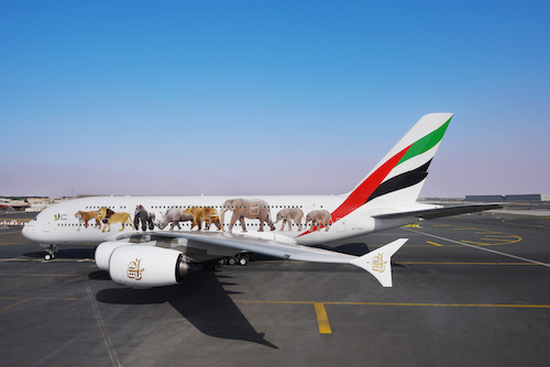 Preview: Emirates' message against illegal wildlife trade goes around the world, and on a roundabout