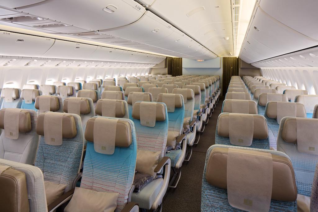 The Economy Class cabin