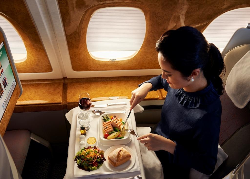 Dining on Emirates