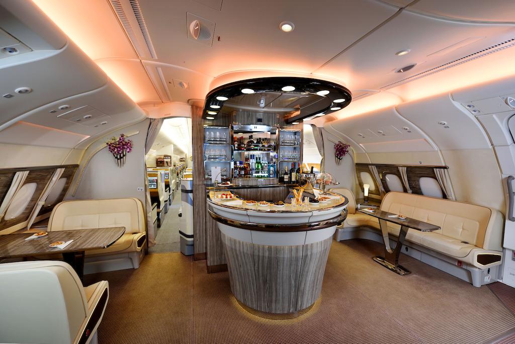 Emirates' iconic Onboard Lounge