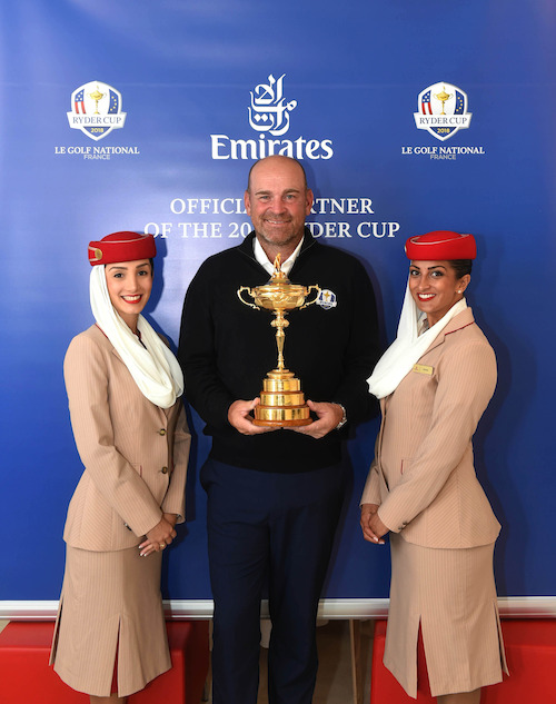Preview: Emirates Becomes Official Partner of The 2018 Ryder Cup