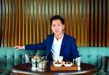 Lunch with André Fu at Café Gray Deluxe, Hong Kong