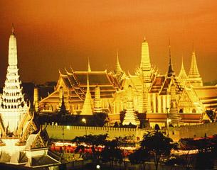 Vuelos a Bangkok, Tailandia