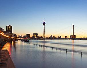 Vuelos a Düsseldorf, Alemania
