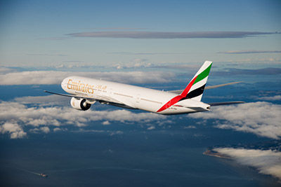 Emirates upgrades aircraft on Cape Town-Dubai route