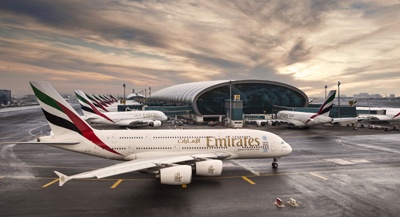Concourse A, home of the Emirates A380, is the world first dedicated A380 hub