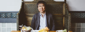 Lunch with Ha-Joon Chang at Sala Thong, Cambridge