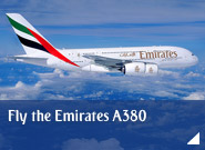Fly the Emirates A380