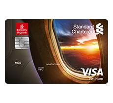 Emirates Standard Chartered Platinum Credit Card