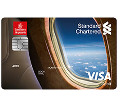 Standard chartered bank pakistan our partners emirates skywards emirates standard chartered platinum debit card reheart Image collections