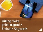 Dołącz do Emirates Skywards i odkryj świat pełen nagród