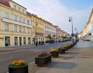 Loty do Warszawy w Polsce